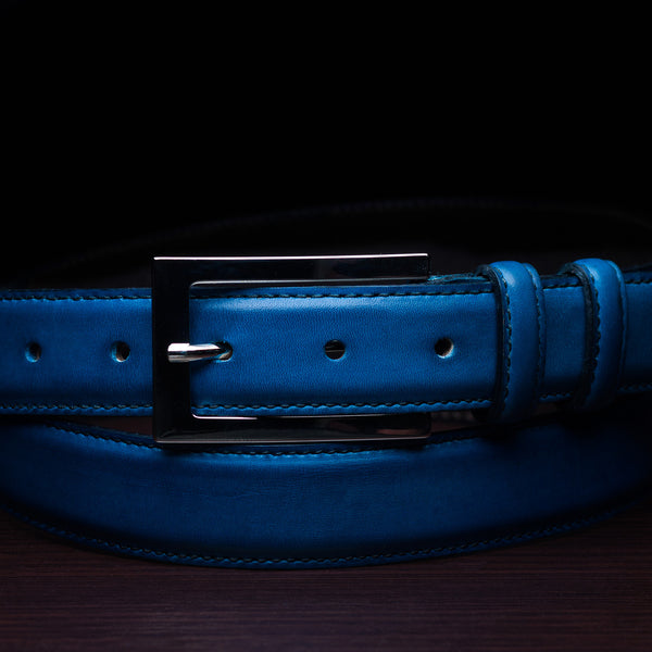 Hand Painted Patina Belt