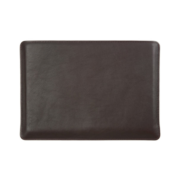 Full Grain Aniline Leather Protective Sleeve for Macbook. Brown Colour.