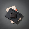 "RFiD Zip Around Leather Slim Wallet on the A5 Calendar | Smart Wallet ""Easy Access"""