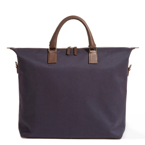Men's Canvas Tote Bag with Zipper for Work.