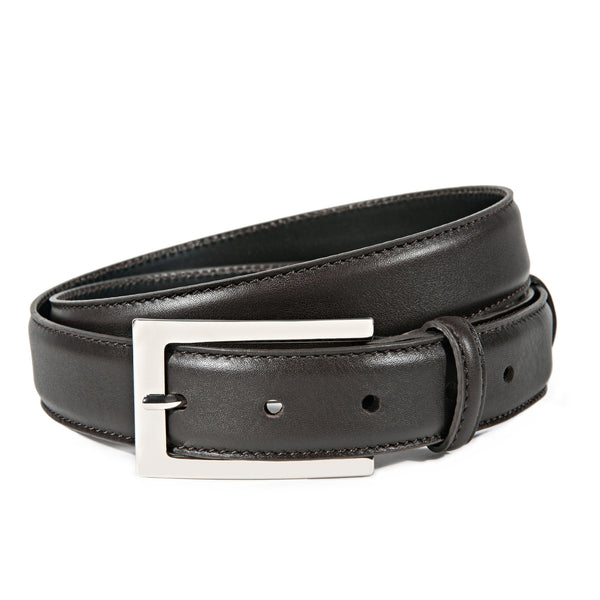 Brown Full Grain Leather Belt for Men