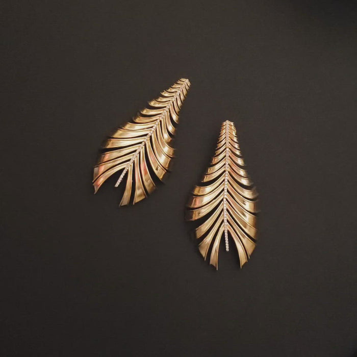 Mcristals Cher Statement earrings