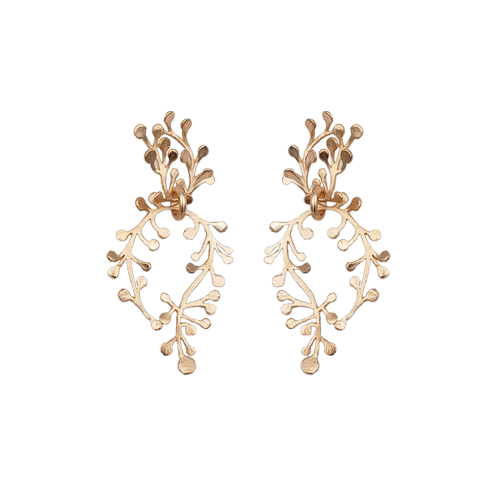Athena Drops Statement Earrings