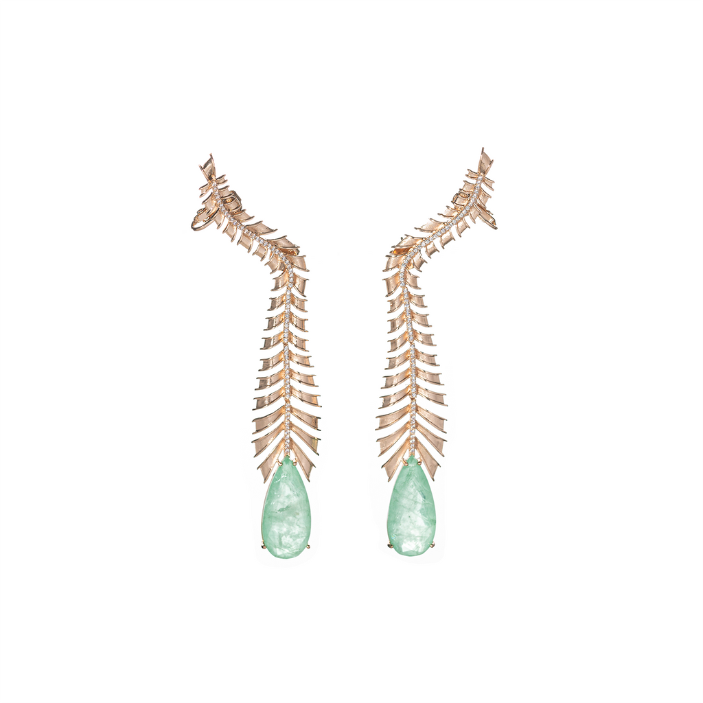 Mcristals Johanna Statement Earrings