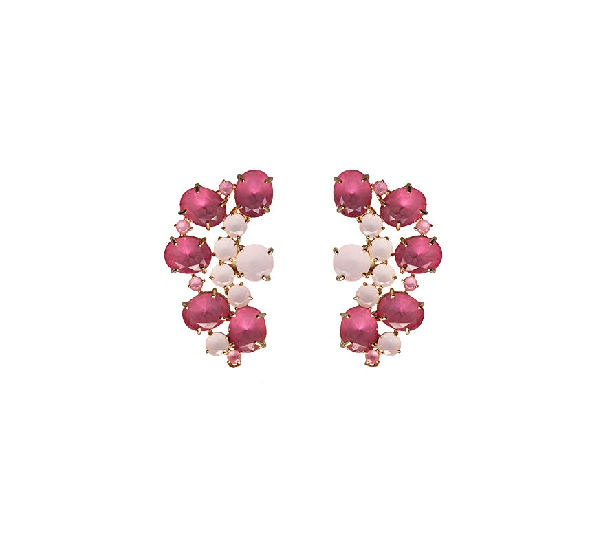 Statement Earrings - Cascade Drops