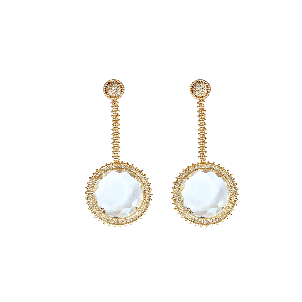 Statement Earrings - Moonlight Drops