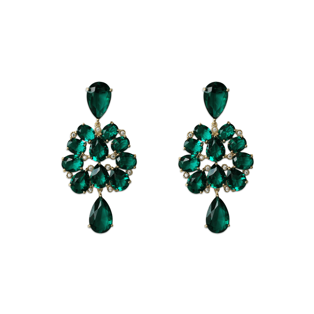 Statement Earrings - Mumbai Drops