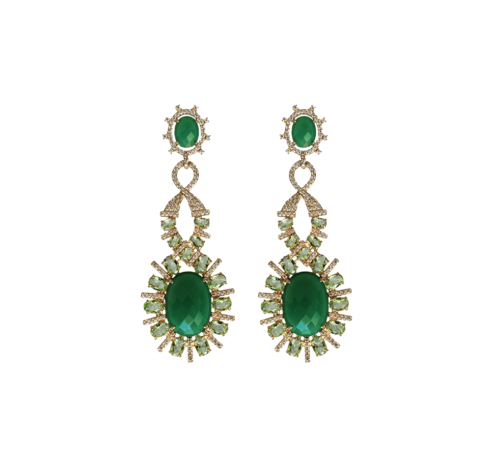 Statement Earrings - Queen Drops