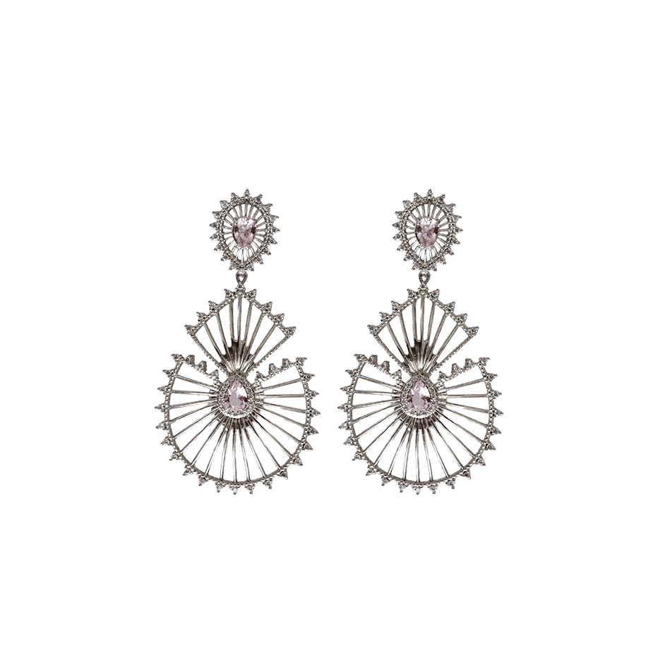 Statement Earrings - Sparkly Drops