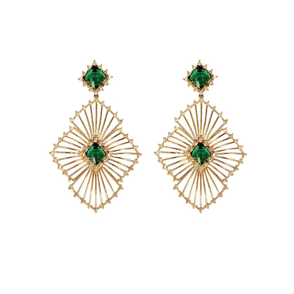Statement Earrings - Sunshine Drops