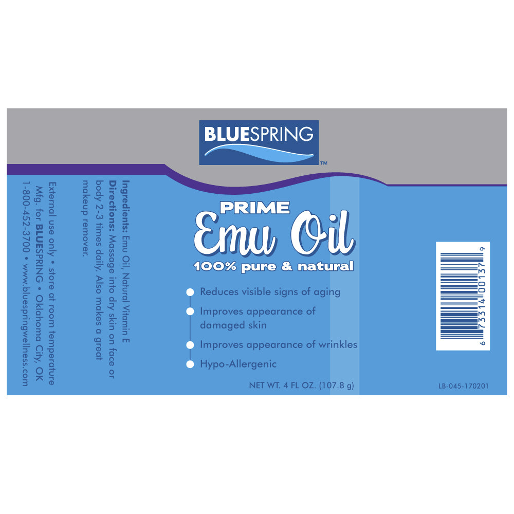 Pure Prime Emu Oil – Ingredients
