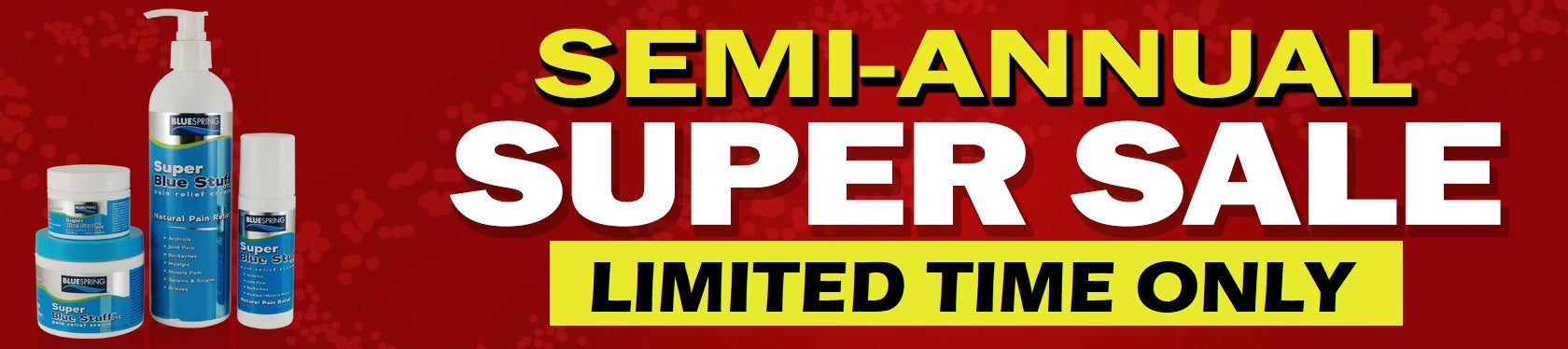Semi-Annual Super Sale from BLUE SPRING - Limited Time Only