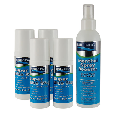 BST-2065: Buy 4 SBS roll-ons Plus 1 Menthol Spray Booster