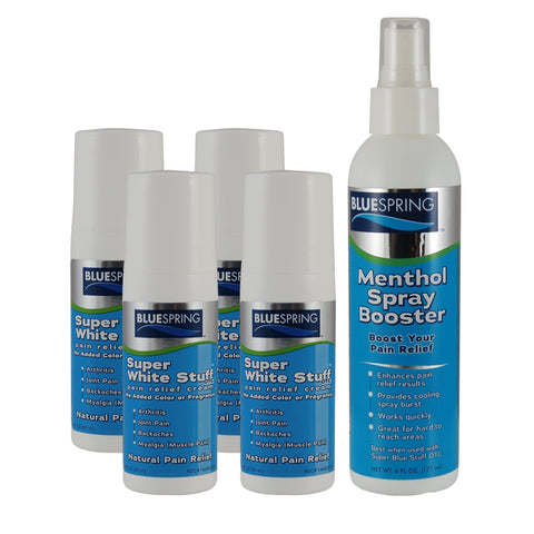 BST-2212: Buy 4 SWS roll-on Plus 1 Menthol Spray Booster