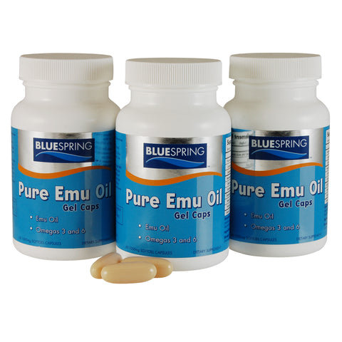 EMU-1797: Buy 3 Pure Emu Oil Gel Caps Get Additional 15% Off