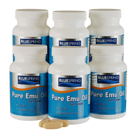 EMU-2221: Pure Emu Oil Gel Caps Buy 3 Get 3 Free