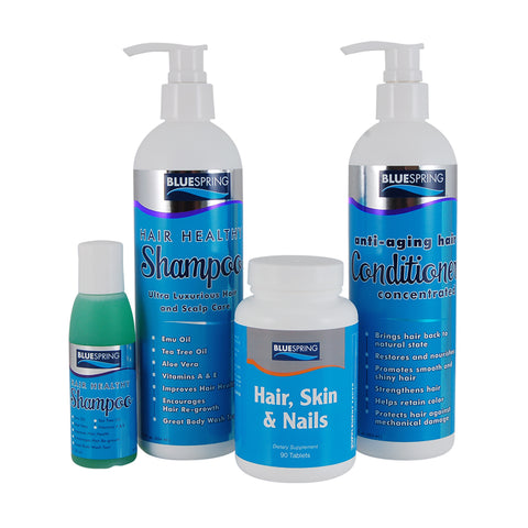 HAR-2013: Hair Care Suite plus Free 2-oz travel size Shampoo