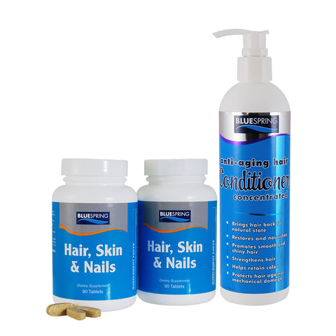 HAR-2154: Buy 2 Hair Skin Nails get Free Conditioner 12-oz.
