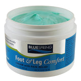 Foot & Leg Comfort Pain Relief Cream Safe for Diabetics, Foot & Leg Comfort Pain Relief Cream, blue spring, super blue stuff, pain relief cream, pain relief, cream, arthritis, emu oil, natural pain relief