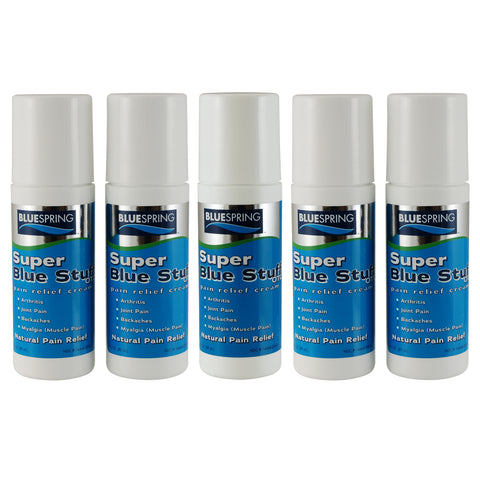 SBS-3039: Buy 4 Super Blue Stuff OTC 3-oz. Roll Ons, Get 1 Free Plus Quantity Pricing Discount