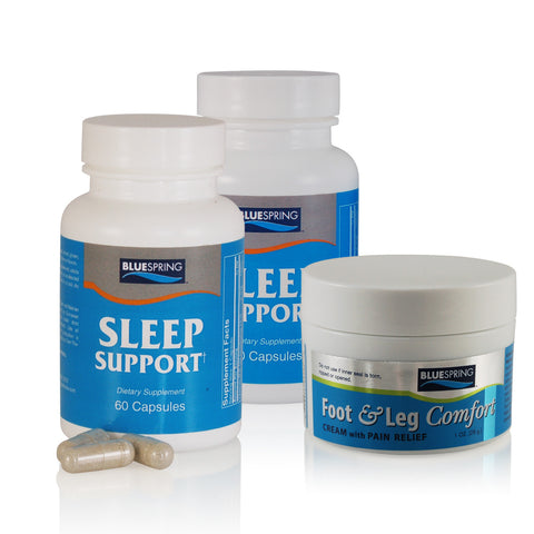 SLE-2150: Buy 1 Sleep Support Get 1 Half Off Plus Free 1-oz. Foot & Leg Comfort