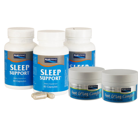 SLE-2151: Buy 2 Sleep Support Get 1 Free Plus 2 Free 1-oz. Foot & Leg Comfort