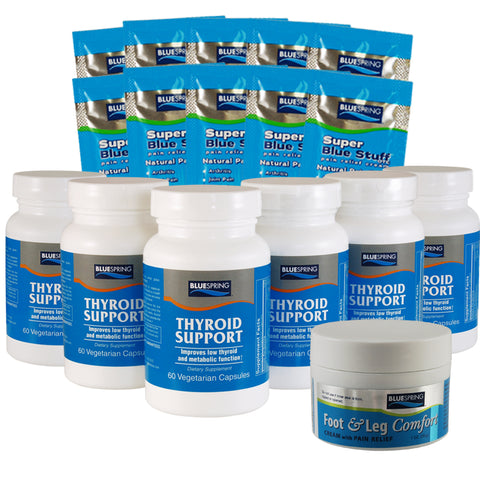 THY-2539: Buy 3 Thyroid Support Get 3 Free Plus 1 Free F&L 1-oz. & 10 SBS Travel Packs