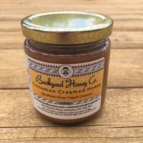 Cinnamon Creamed Honey - 330g