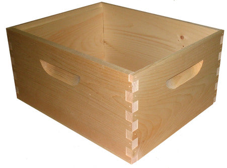 Box Deep Assembled Pine