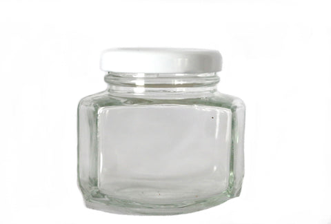 Hex Oval Jar 190ml