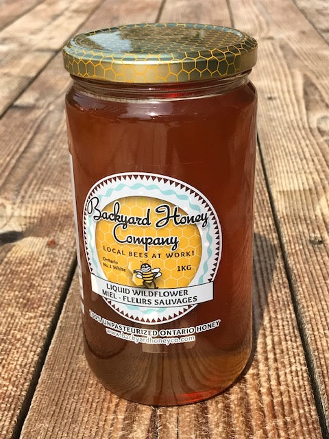 Liquid Wildflower Honey