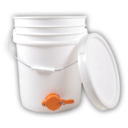 5 Gallon Pail with Honey Gate photo