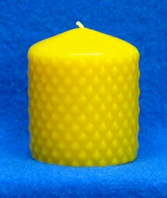 "Diamond Pillar Candle Mould 2.75"" x 3"""