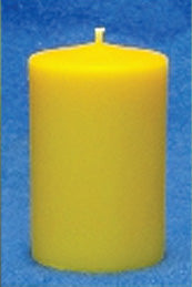 "Smooth Pillar Candle Mould 2.5"" x 5"""