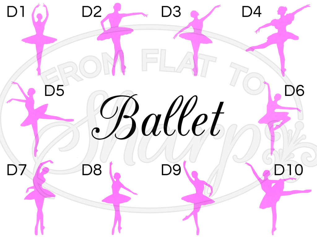 Dance Decals