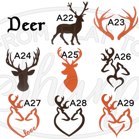 Deer Decals