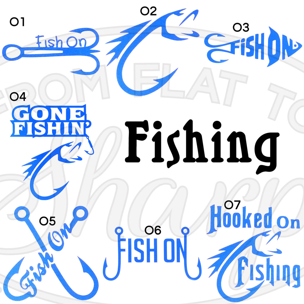 Fishing Decals