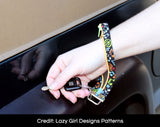 Wristlet Key Fobs - Patterned