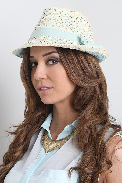 Bayside Beaute Fedora - Thick 'N' Curvy Shop - 1