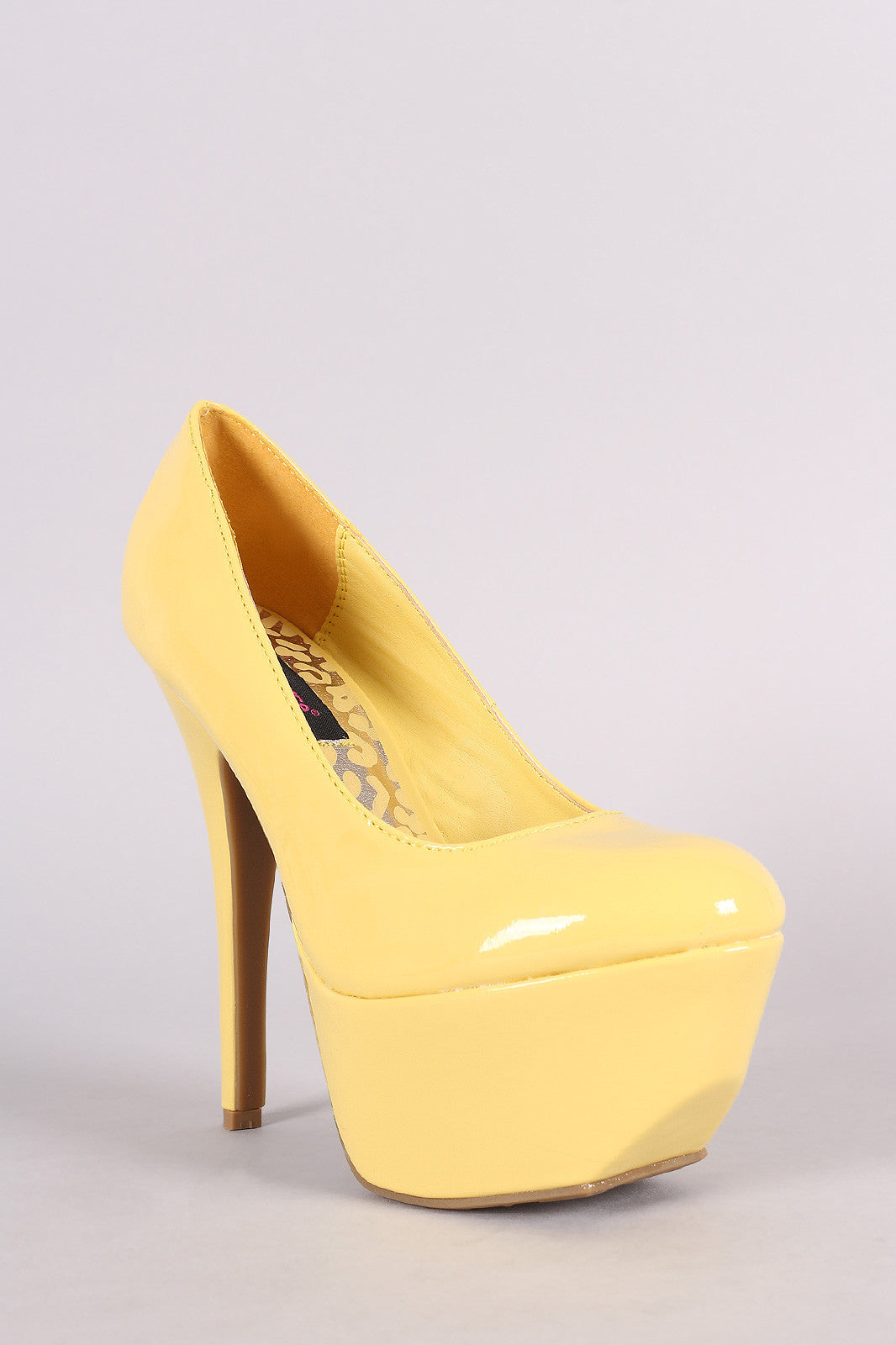 Dollhouse Patent Platform Pump - Thick 'N' Curvy Shop - 2