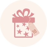 Nudestix 2019 Advent Calendar Day 10 gift icon