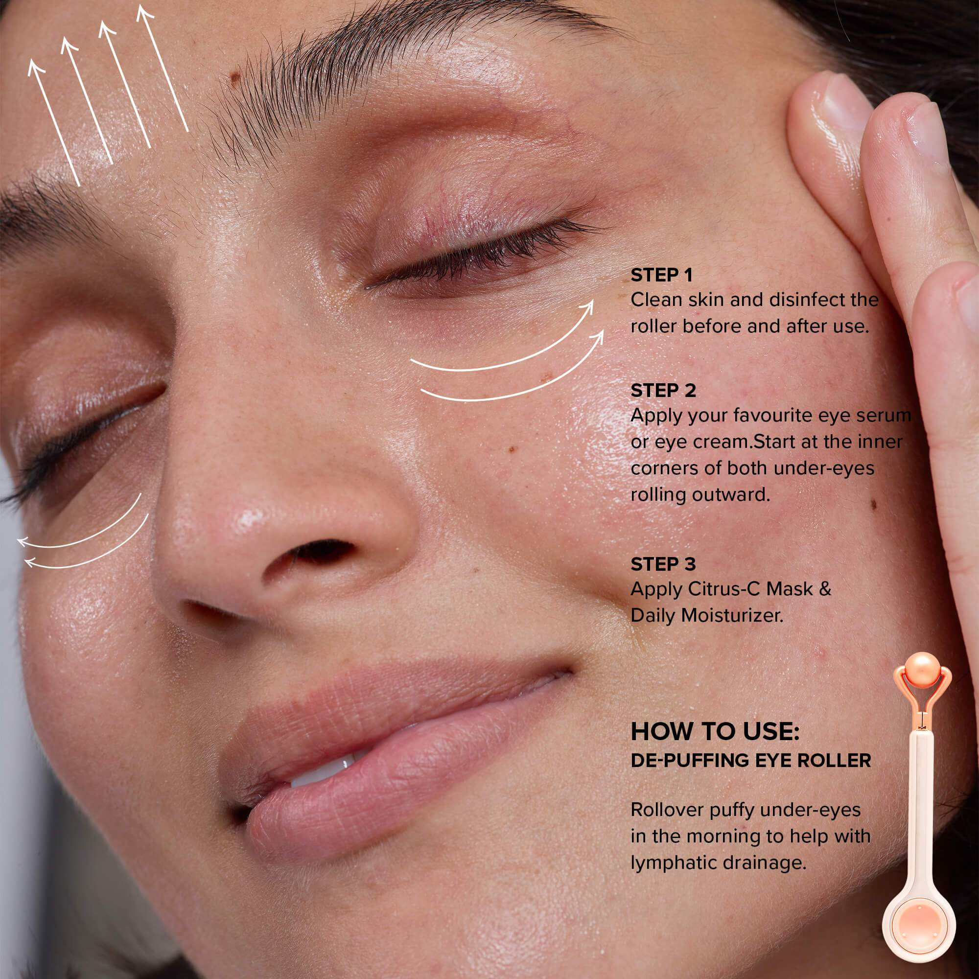 How To Use Eye Roller