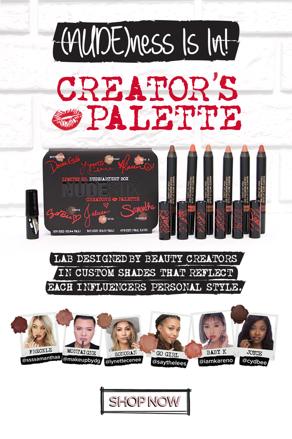 Creator's Palette: Available Now!