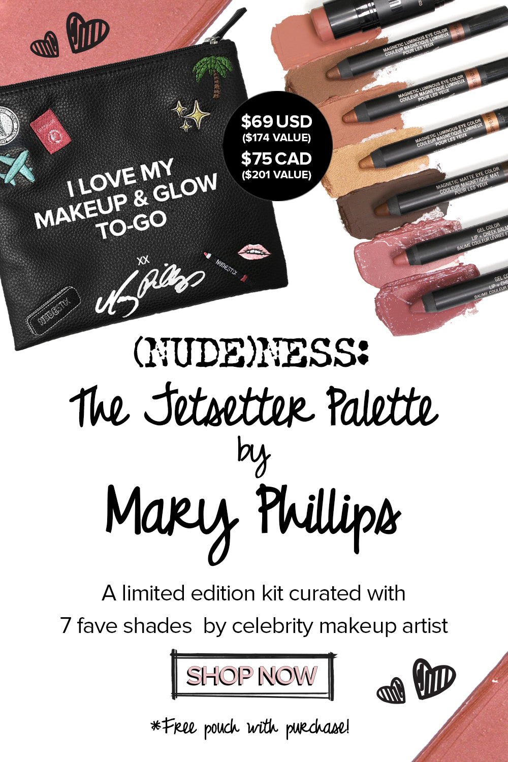 Jetsetter Palette by Mary Phillips