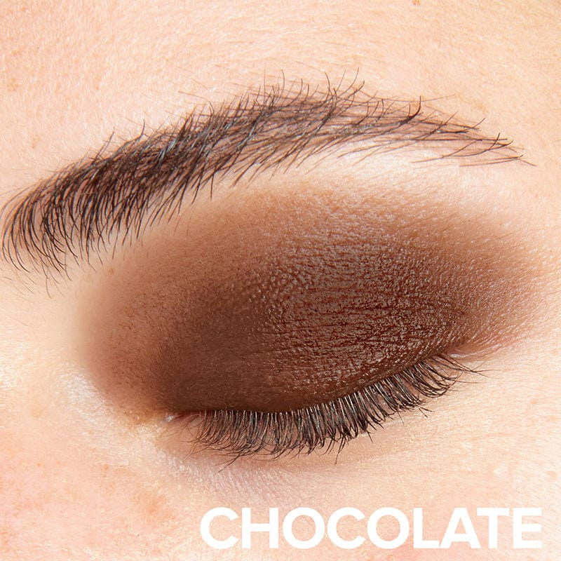 Chocolate, Person wearing Magnetic Matte Eye Color in Chocolate (9044653831)