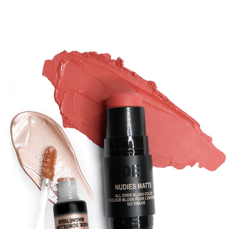 NudeSkin: Blush + Glow Kit makeup products