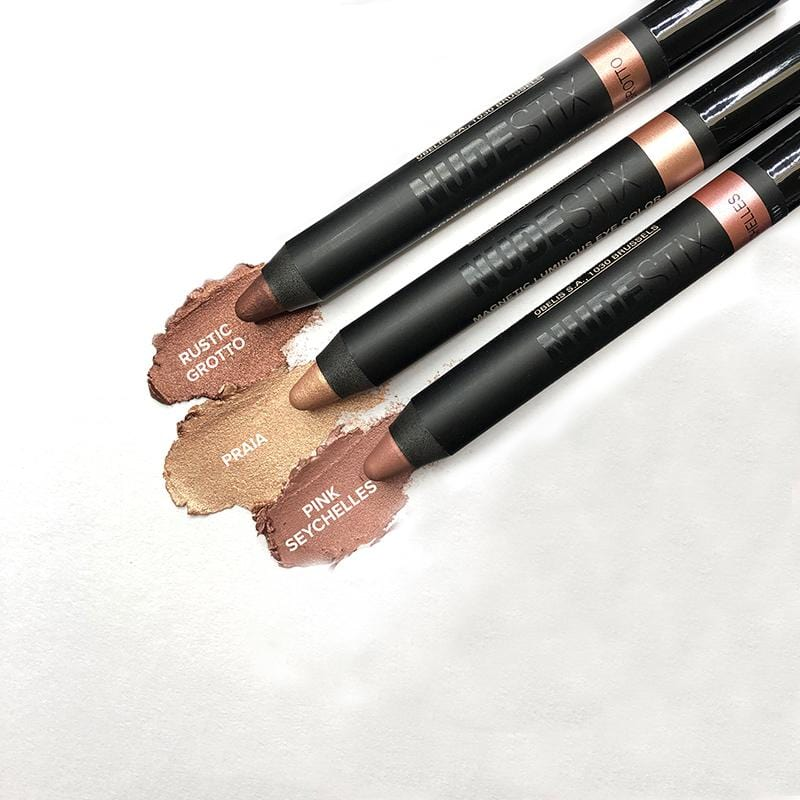 Pink Seychelles,Rustic Grotto,Praia, Nudestix Magnetic Luminous Eye Color pencils in Pink Seychelles, Rustic Grotto, Praia (9044474439)