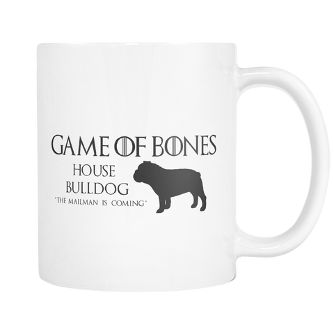 Game Of Bones Bulldog Coffee Mug