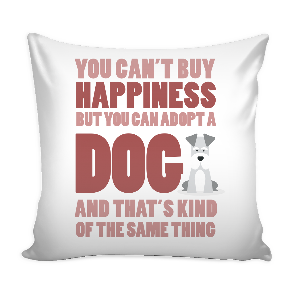 Adopt a Dog Pillow