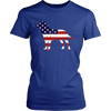 Image of American Flag Labrador Dog T-Shirt